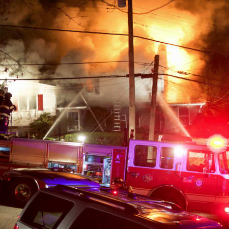 One person is still missing and another injured in a fire on Scarsdale Boulevard that started Sunday.