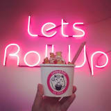 Everyone Is Rolling Up To Englewood's Newest Ice Cream Shop