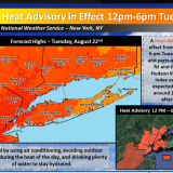 Heat, Humidity Make Their Way To Armonk