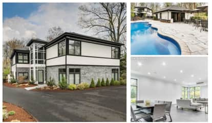 Look Inside Futuristic Wyckoff Home With Outdoor Oasis