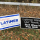 "Campaign signs declaring: ""Latimer Raises Our Taxes. . .But Won't Pay HIS!""   popped up along roadways in Westchester last weekend alongside pro-Latimer signs. These ones were in the Town of Greenburgh."