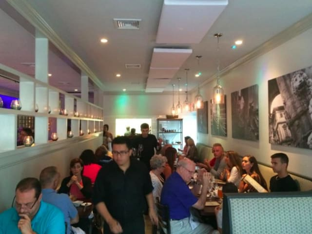 A full house at Tazza of Fairfield