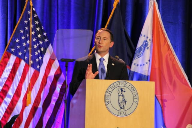 County Executive Robert P. Astorino is set to kick off the new year with a special open house reception on Jan. 1.