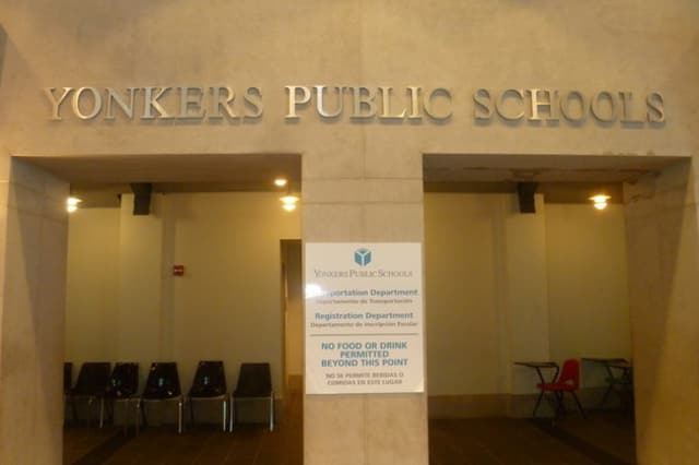 "Eight Yonkers schools were listed as ""failing"" by New York State."