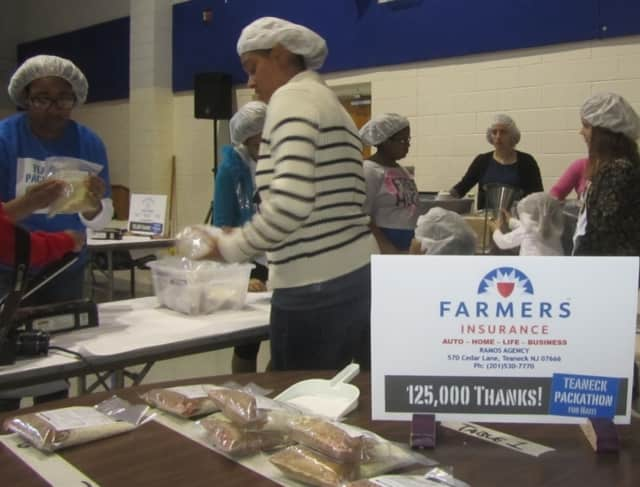More than 500 volunteers packed meals for Haiti during last year's Packathon.
