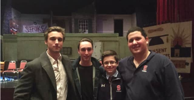 Members of Archbishop Stepinac's Drama Club will perform '12 Angry Men' later this month.