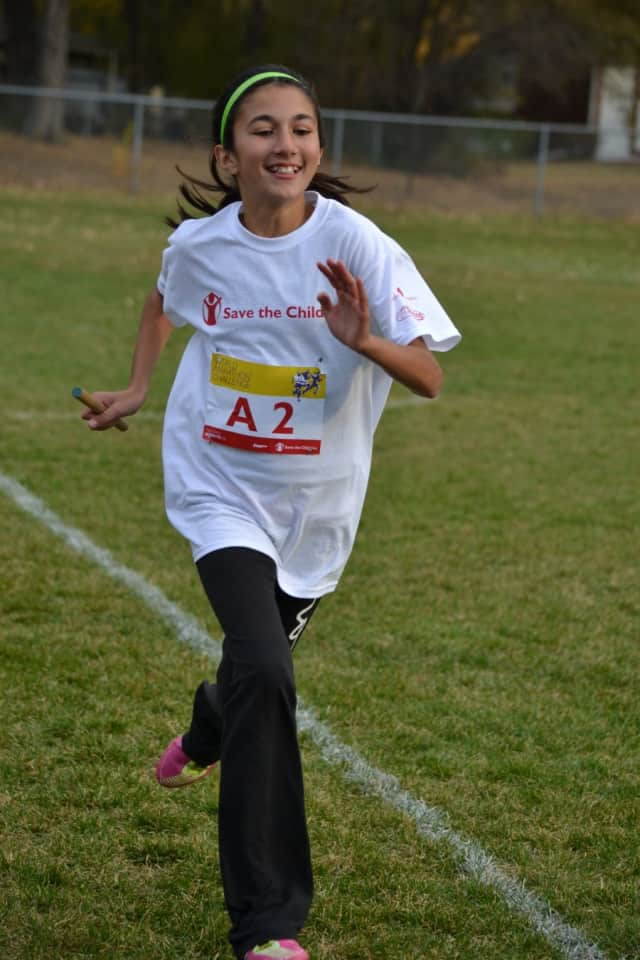Wilton children of all ages can help save other children's lives around the world by running in the World Marathon Challenge Monday at the Wilton High School track.
