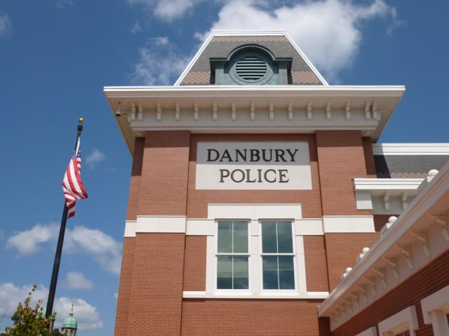 An elderly man died while shoveling in Danbury Saturday morning, police said.